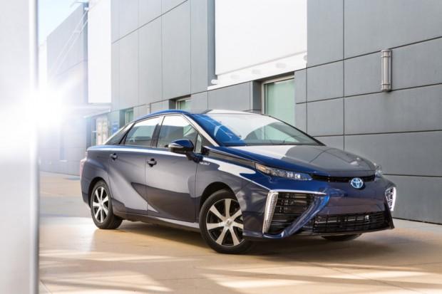 Das Brennstoffzellenauto Toyota Mirai kommt im September 2015 auch in Deutschland auf den Markt. Bildquelle: Toyota