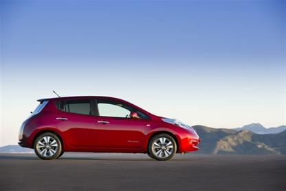 Elektroauto Nissan Leaf. Bildquelle: Nissan