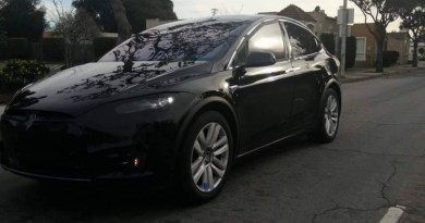 Elektroauto Tesla Model X. Bildquelle: Bay Area Car Spotters