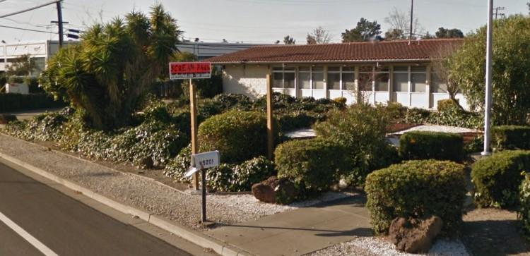Dieses Grundstück hat Tesla Motors gekauft. Bildquelle: Google Maps