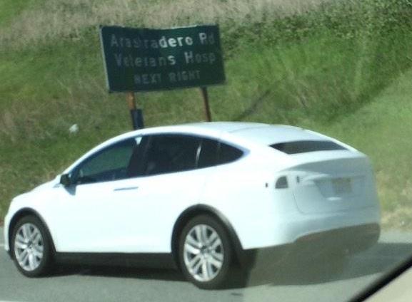 Elektroauto Tesla Model X. Bildquelle: John Donnelly