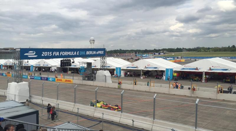 Das erste mal in Berlin: Die Formel E. Bildquelle: FIA Formel E DHL Berlin ePrix. (http://berlin.fiaformulae.com/de)