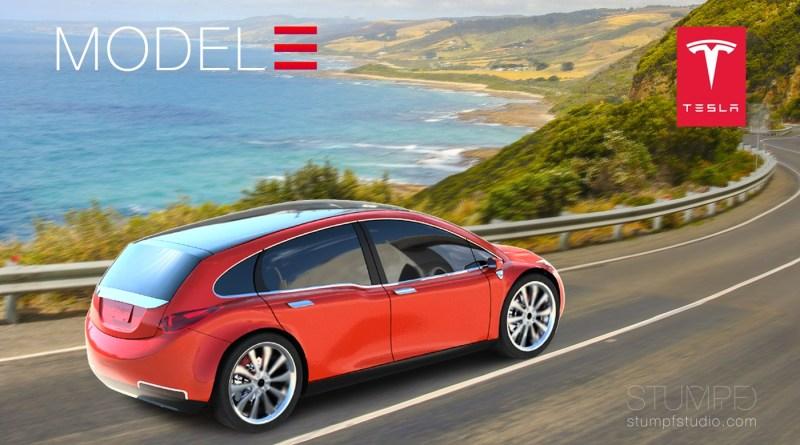 So stellt sich James Stumpf das Elektroauto Tesla Model 3 vor. Bildquelle: Stumpf Studios