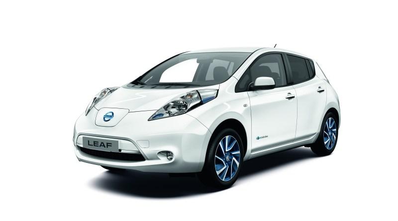 Die Limited Edition des Elektroauto Nissan Leaf lässt sich 3 Stunden schneller aufladen. Bildquelle: Nissan
