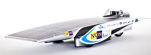 Symbolbild. Solarauto Nuna 5 der TU Delft. Bildquelle: Hans Peter van Velthoven (http://www.tudelft.nl).