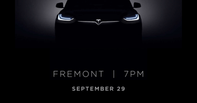 Einladung Elektroauto Tesla Model X. Bildquelle: Tesla Motors