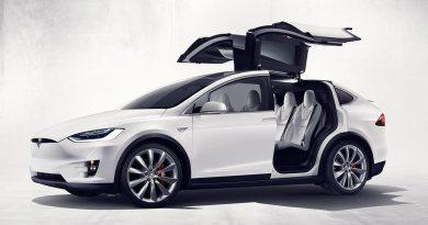 Dies ist die Serienversion des Elektroauto Tesla Model X. Bildquelle: Tesla Motors