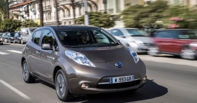 Elektroauto Nissan Leaf 2016. Bildquelle: Nissan