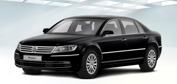 VW Phaeton. Bildquelle: VW AG