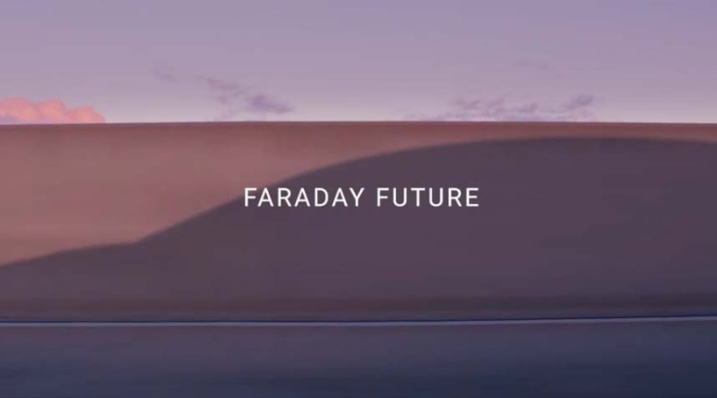 """Screenshot von dem Video """"What if"""" von Faraday Future, sieht man hier schon die Silhouette des Elektroauto-Konzeptes? Bildquelle: Faraday Future"""