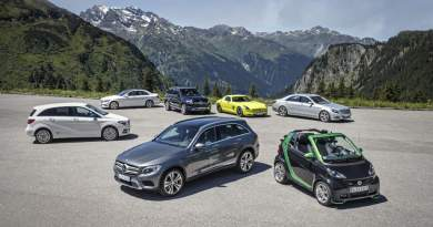Mercedes-Benz und smart auf e-Mission im Montafon Mercedes-Benz and smart on e-mission in Montafon. Bildquelle: Daimler AG