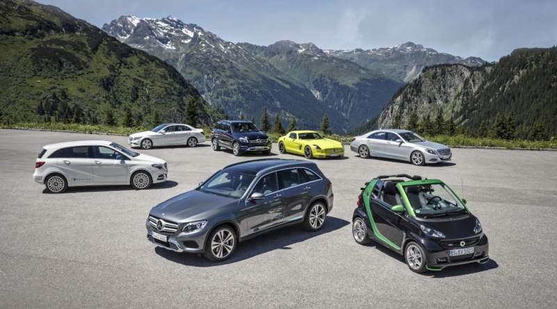 Mercedes-Benz und smart auf e-Mission im Montafon Mercedes-Benz and smart on e-mission in Montafon. Bildquelle: Daimler AG