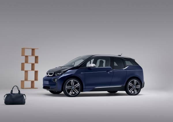 Elektroauto BMW i3 im exklusiven Mr Porter Design. Bildquelle: BMW