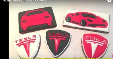 So sehen die Tesla-Lebkuchen aus. Bildquelle: http://www.cinnamonsweetshoppe.com