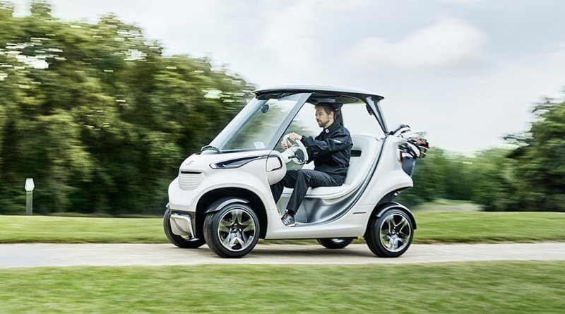 Mercedes Benz Style Edition Garia Golf Car. Bildquelle: Mercedes-Benz