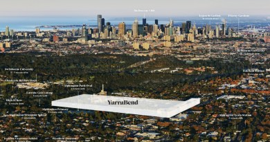 """Hier sieht man einen """"Lageplan"""" von YarraBend. Bildquelle: https://yarrabend.com.au/"""