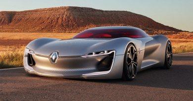 Das Elektroauto Renault Trezor kann noch bis zum 16. Oktober 2016 auf der Automesse in Paris angeschaut werden. Bildquelle: Renault