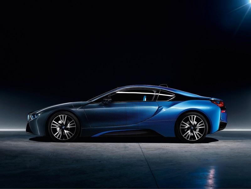 Das Plug-In Hybridauto BMW i8 Garage Italia CrossFade. Bildquelle: BMW