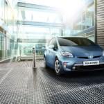 Plug-In Hybridauto Toyota Prius, er wird auch als Prius Plug-In Hybrid oder auch als Prius PHV bezeichnet. Bildquelle: Toyota