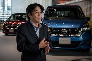 Fragen der Kommunikation zwischen dem Fahrer und dem Auto stehen daher ganz besonders im Fokus des Nissan Entwicklungsteams zum autonomen Fahren unter der Leitung von Takashi Sunda. Bildquelle: Nissan