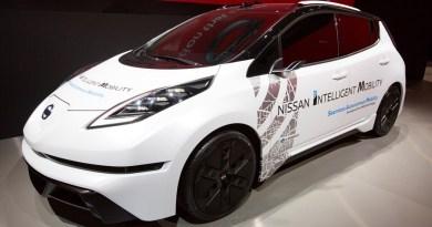 In einer Keynote-Rede auf der Consumer Electronics Show (CES) 2017 hat Nissan Chef Carlos Ghosn jetzt Technologien und Partnerschaften angekündigt, die die Mobilität in Richtung einer emissionsfreien Zukunft ohne Verkehrsopfer vorantreiben werden. Bildquelle: Nissan