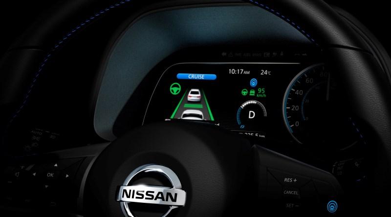Die neue Version des Elektroauto Nissan Leaf wird über ProPilot verfügen, hiermit erhält der Stromer ein paar Assistenzsysteme, durch welche der PKW eine gewisse Strecke autonom fahren kann. Bildquelle: Nissan