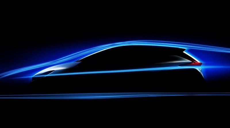 Zweite Generation des Elektroauto Nissan Leaf, so könnte die Silhouette des Stromers aussehen. Bildquelle: Nissan
