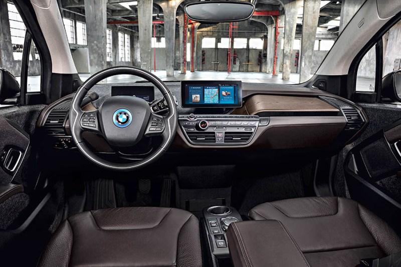 Das Cockpit des Elektroauto BMW i3s. Bildquelle: BMW