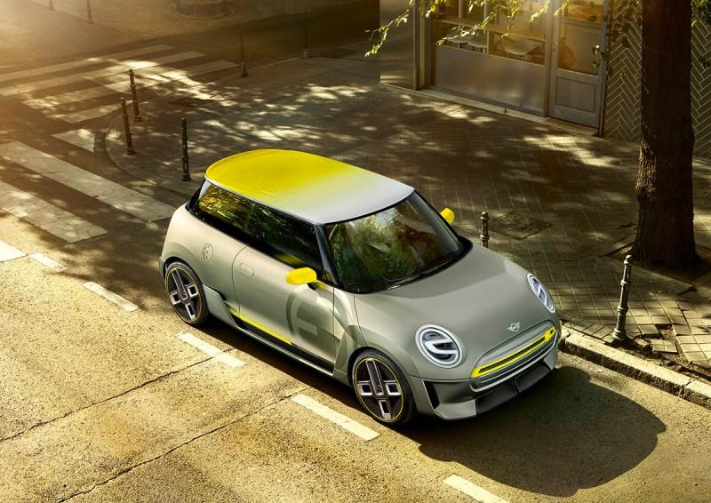 Elektroauto Mini Electric Concept. Bildquelle: Mini / BMW Group
