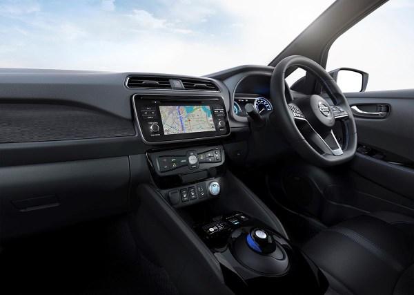 Das Cockpit des Elektroauto Nissan Leaf 2. Bildquelle: Nissan