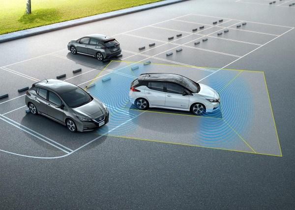 Eine Darstellung der Arbeitsweise des ProPilot-Systems, welches im Elektroauto Nissan Leaf 2 zum Einsatz kommt. Bildquelle: Nissan