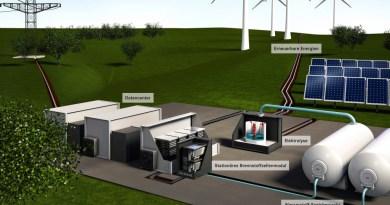 Daimler überträgt seine Fahrzeug-Brennstoffzellentechnologie auf stationäre Energieanlagen: Nachhaltige und unabhängige Energieversorgung für Datenzentren Daimler transfers its automotive fuel cell technology to stationary power systems to demonstrate: Sustainable and independent energy supply for data center. Bildquelle: Daimler