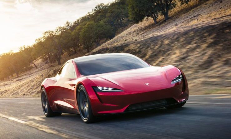 Elektroauto Tesla Roadster 2. Bildquelle: Tesla