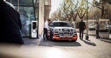 Audi e-tron prototype: Audi City Berlin. Bildquelle: Audi AG