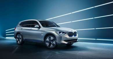 Elektroauto BMW Concept ix3. Bildquelle: BMW