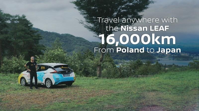 Mit dem Elektroauto Nissan Leaf hat der Polarforscher Marek Kaminski 16.000 Kilometer zurückgelegt. Bildquelle: Nissan