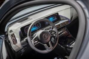 So sieht das Cockpit des Elektroauto Mercedes-Benz EQC 400 aus. Bildquelle: Daimler AG