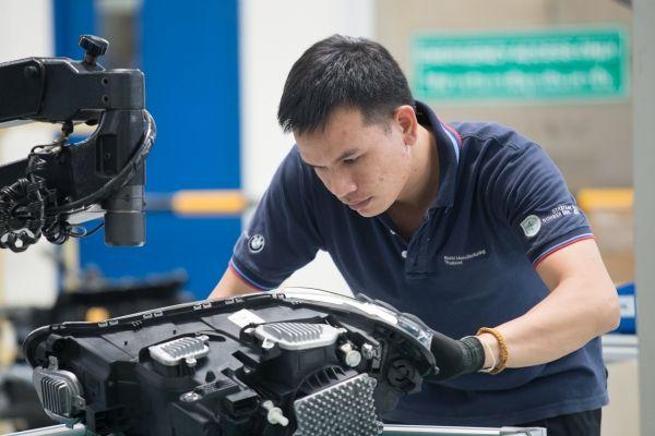 Produktion im BMW Group Werk Rayong, Thailand (11/2018). Bildquelle: BMW Group