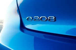 Elektroauto Peugeot e-208. Bildquelle: Peugeot
