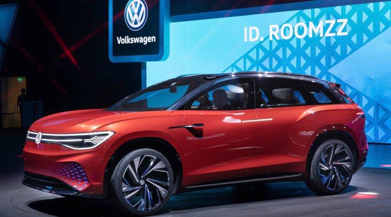 Volkswagen ID. ROOMZZ showcar. Bildquelle: Volkswagen AG