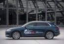 Das Elektroauto Audi e-tron wird beim Wings for Life World Run die Läufer jagen