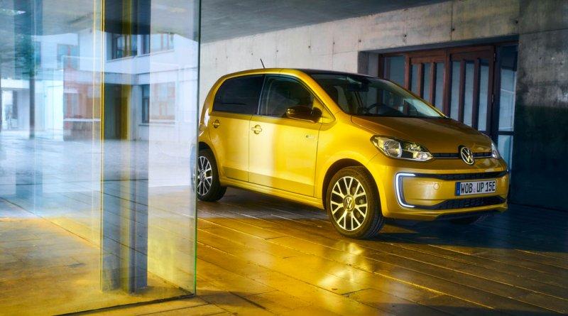 Elektroauto VW e-up! 2019er Variante. Bildquelle: VW AG