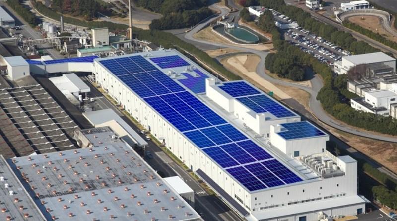 Mitsubishi Motors: Altbatterien als Energiespeicher für Fotovoltaikanlage im Werk Okazaki. Bildquelle: Mitsubishi Motors