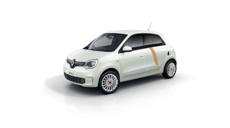Elektroauto Renault Twizy Vibes. Bildquelle: Renault