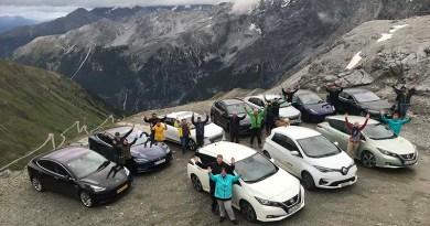 Die Elektroauto-Rallye Wave feiert ihr 10 jähriges Jubiläum