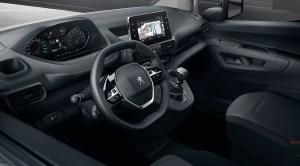 Das Cockpit des Elektroauto Peugeot e-Partner. Bildquelle: Peugeot