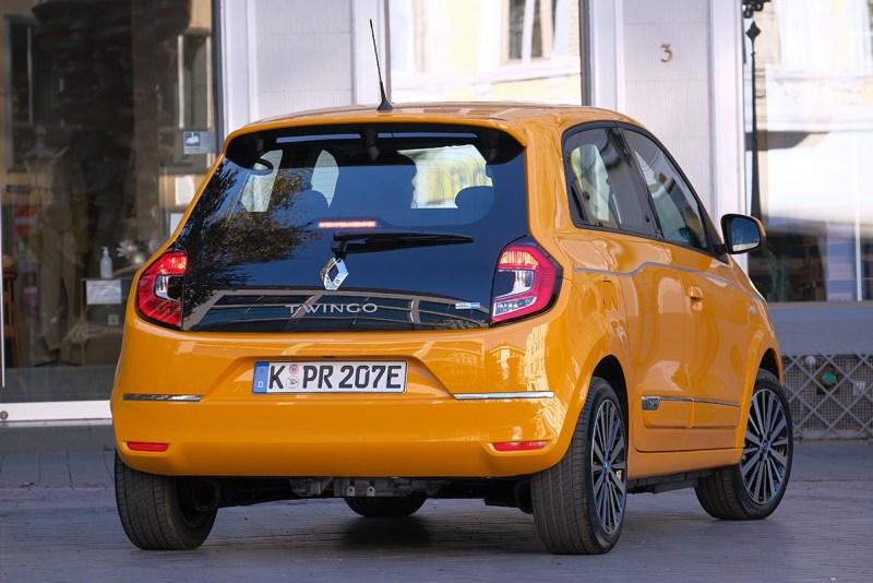 Elektroauto Renault Twingo Electric Rückseite. Bildquelle: Renault