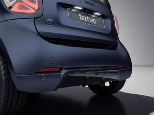 Elektroauto smart EQ fortwo edition bluedawn. Bildquelle: Mercedes Benz AG
