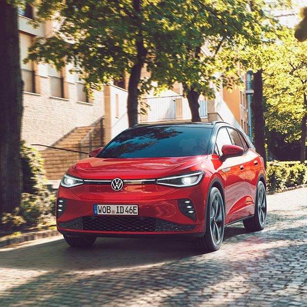 Elektroauto Volkswagen ID.4 GTX. Bildquelle: VW AG