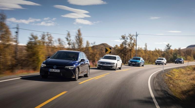 Volkswagen Passat GTE Variant, Touareg R, Tiguan eHybrid, Arteon. Bildquelle: VW AG